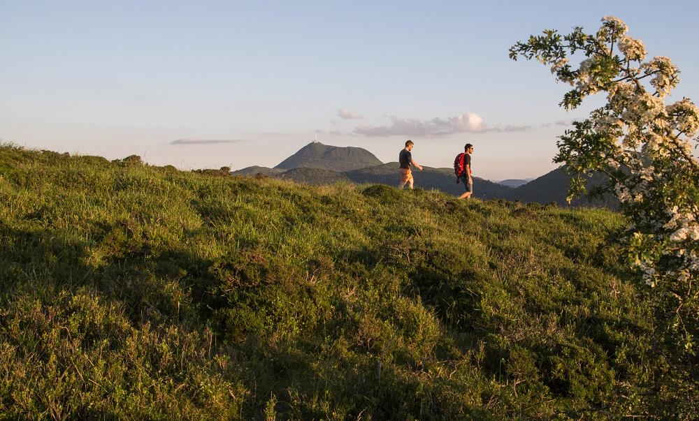 Wandern auf den Puy des GouttesWanderung auf dem Puy des Gouttes