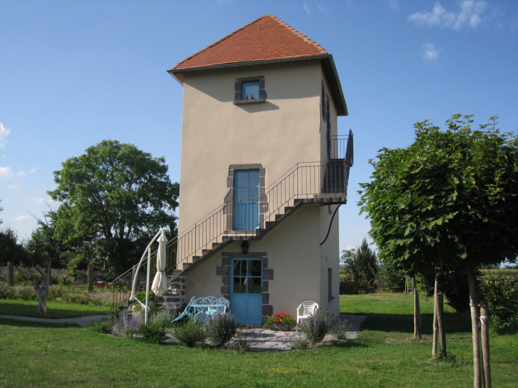 Taubenschlag auf Domaine de Cambrai