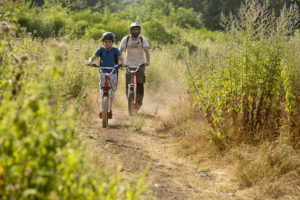 Mountainbike in Volvic
