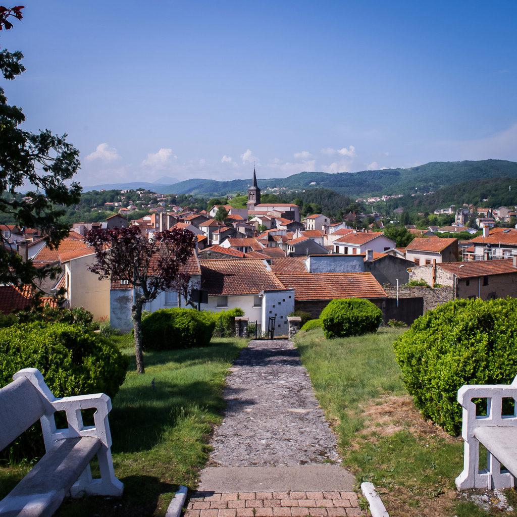 View of Châtel-Guyon