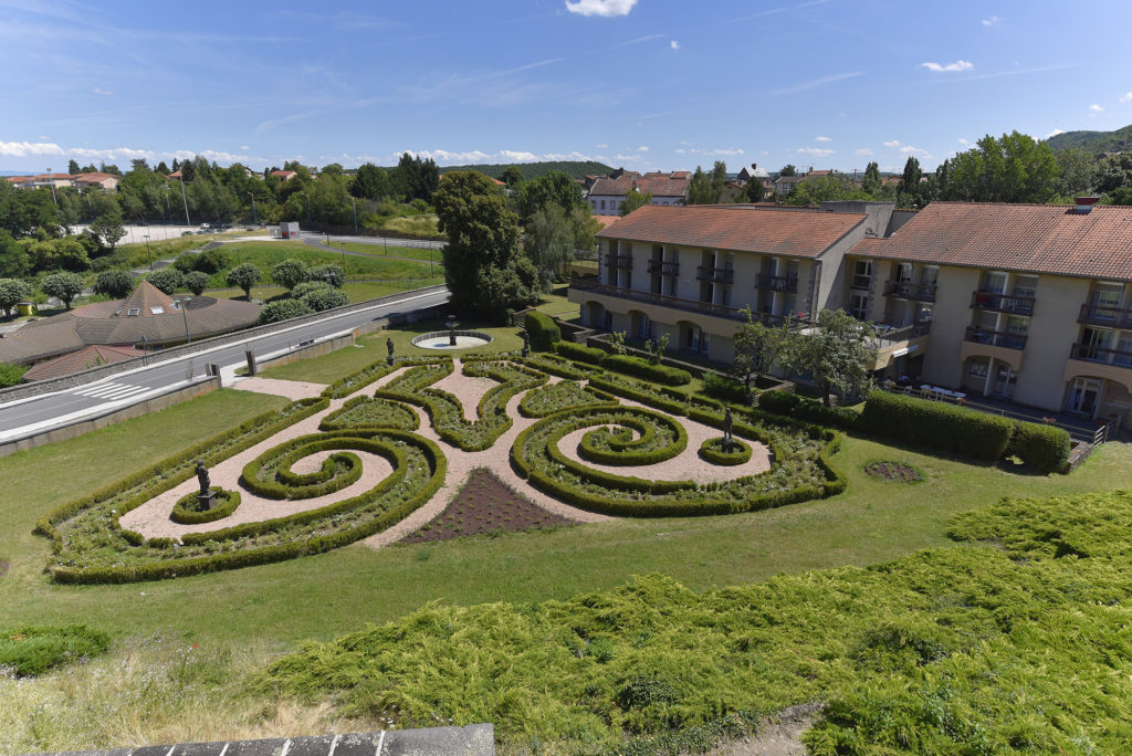 Bosredon's garden in Volvic