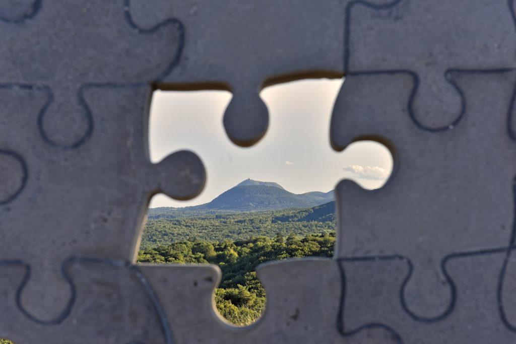 Puzzle de Thierry Courtadon à Viallard