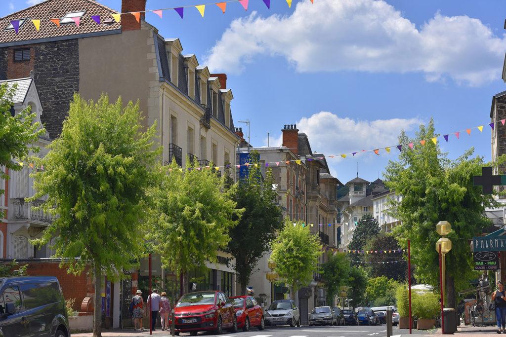 Street in Châtel-Guyon