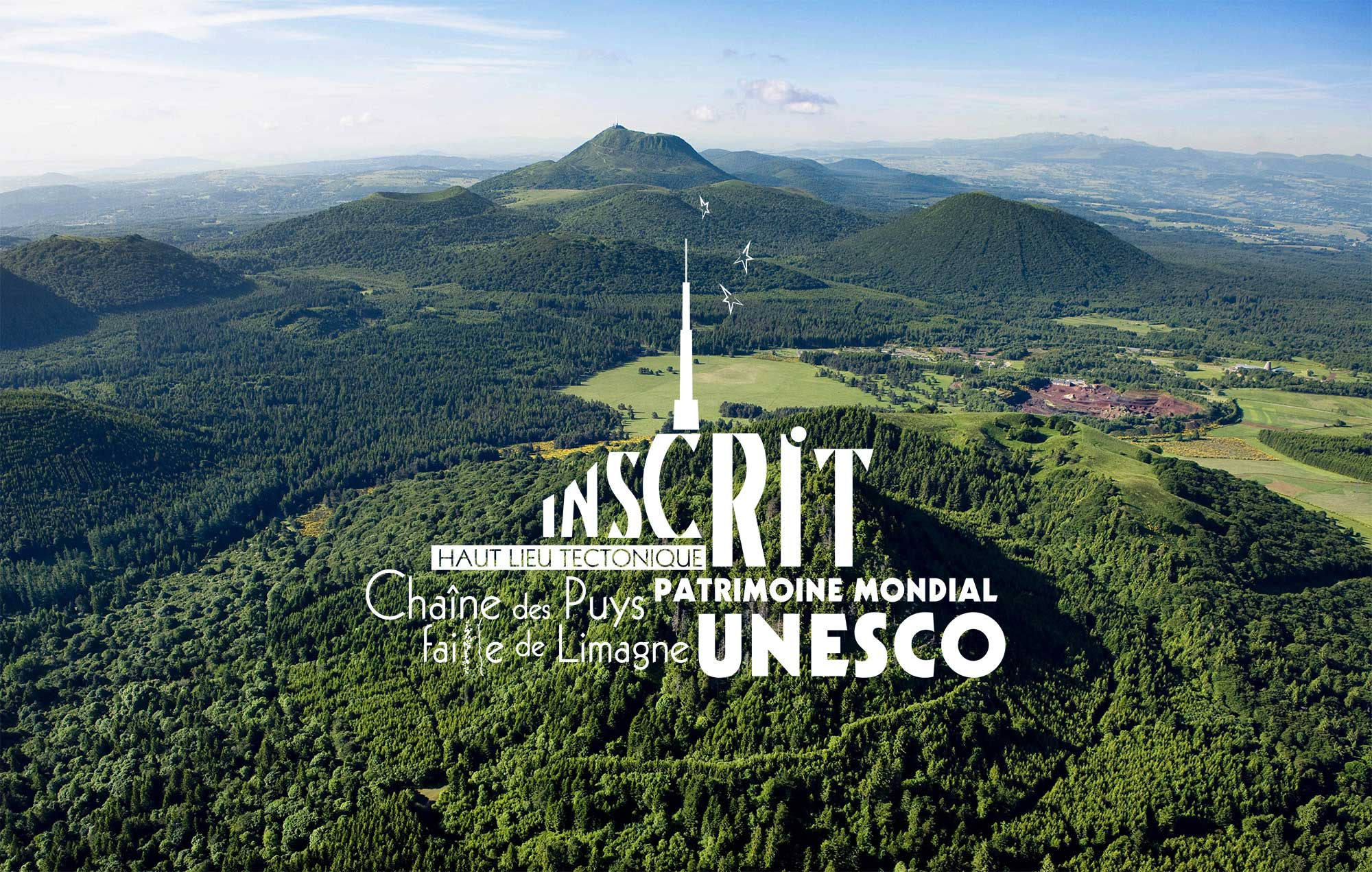 UNESCO – Chaîne des Puys – Limagne Fault
