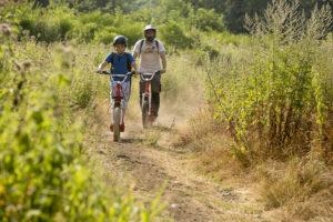 Mountain biking ©Mairie de Volvic - Pierre Soissons