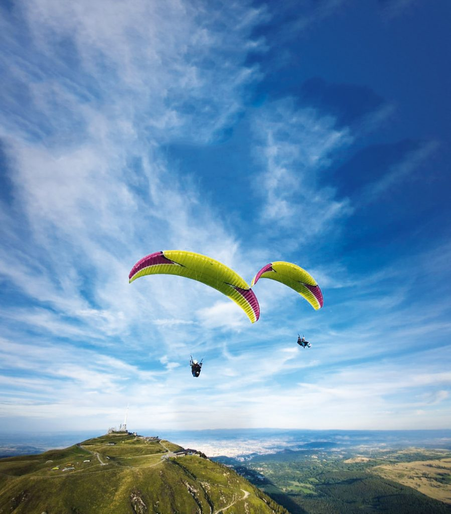 Paragliding with Freedom Parapente