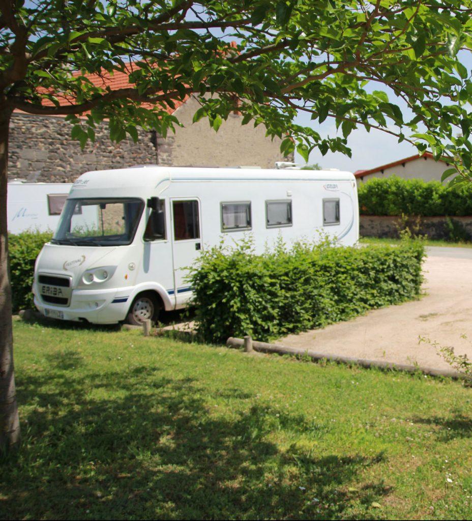 Camper area in Riom