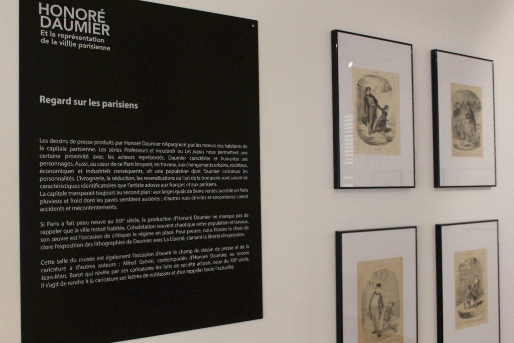 Daumier exhibition at Musée Sahut in Volvic