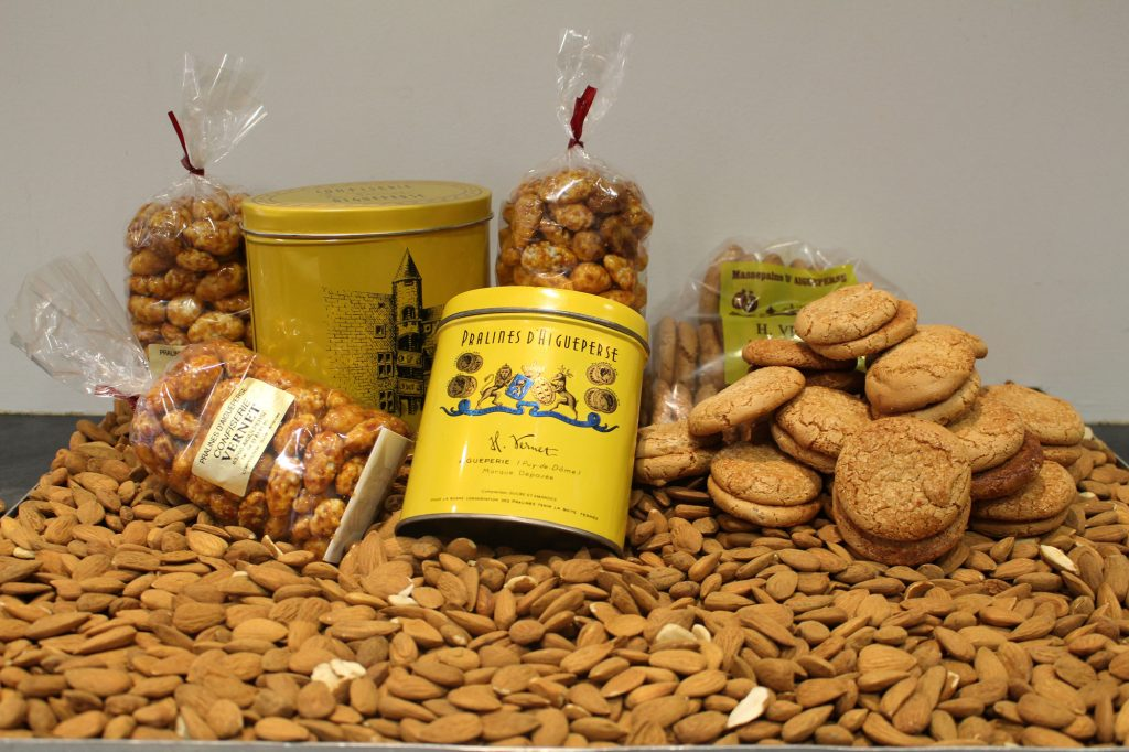Pralines and massepains from Maison Vernet in Aigueperse