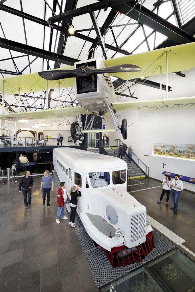 Aventure Michelin Museum in Clermont-Ferrand
