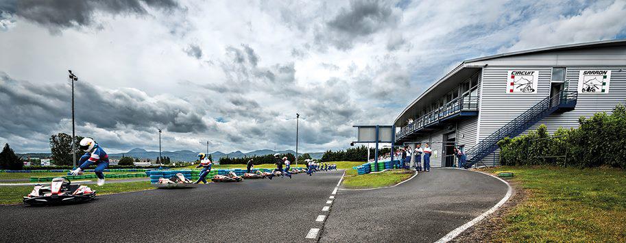 Circuit Sarron à Riom