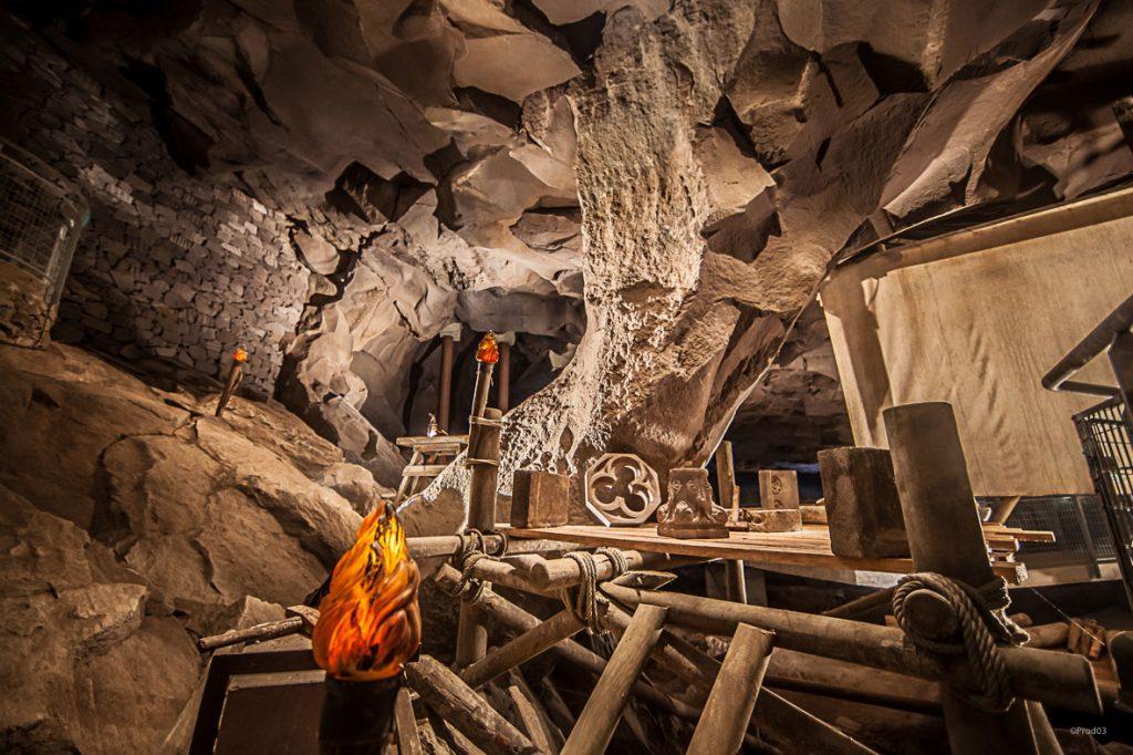Grotte de la Pierre à Volvic