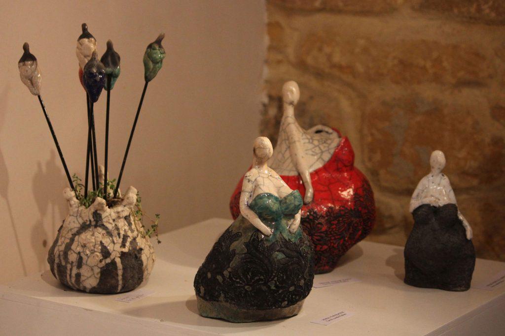 Sculpture raku Frédérique Lacroix-Damas