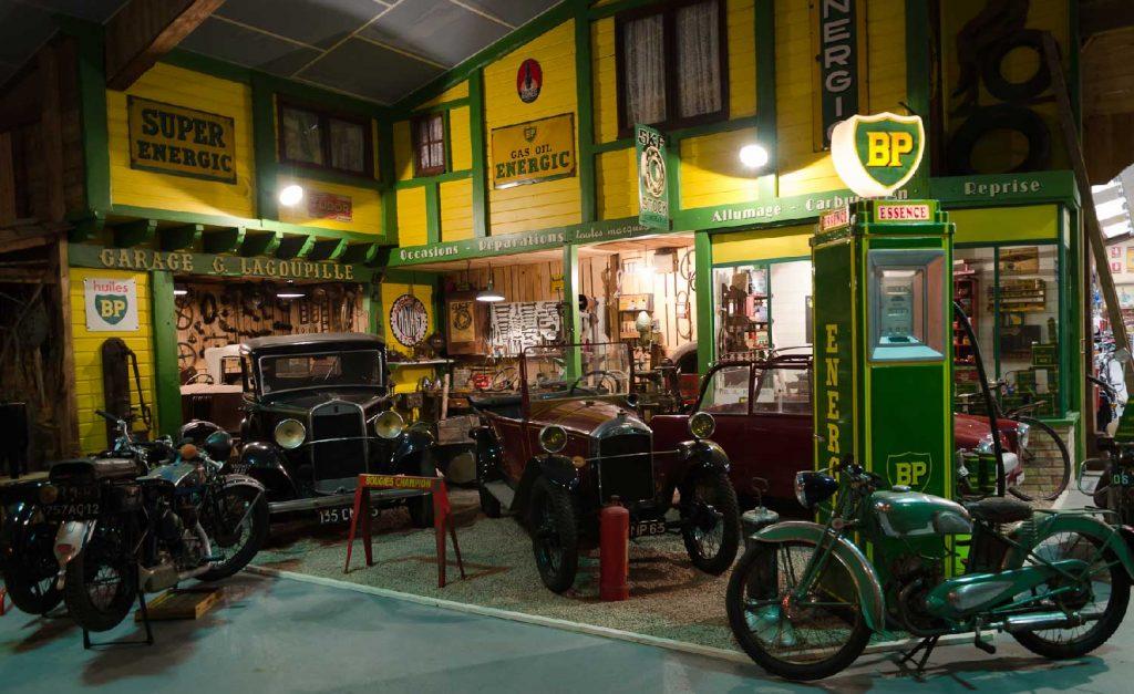 Musée de la moto à Riom