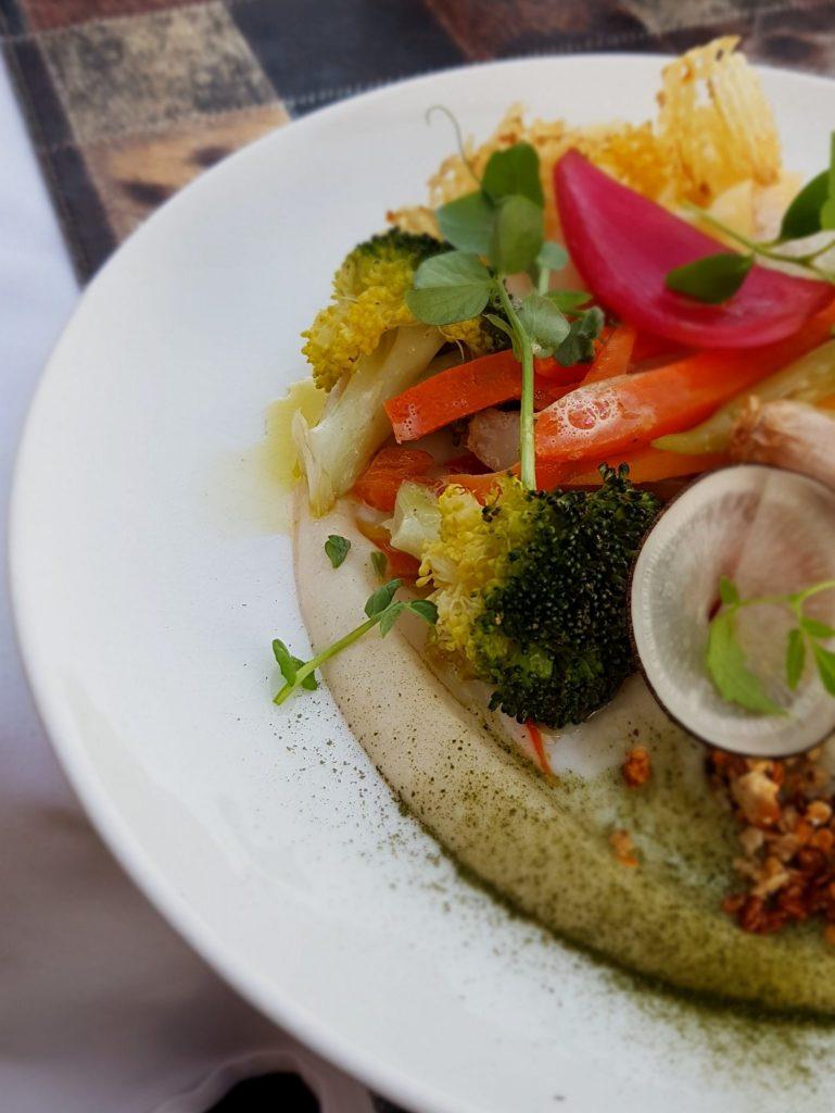Assiette au restaurant La Croix de Fer, Riom