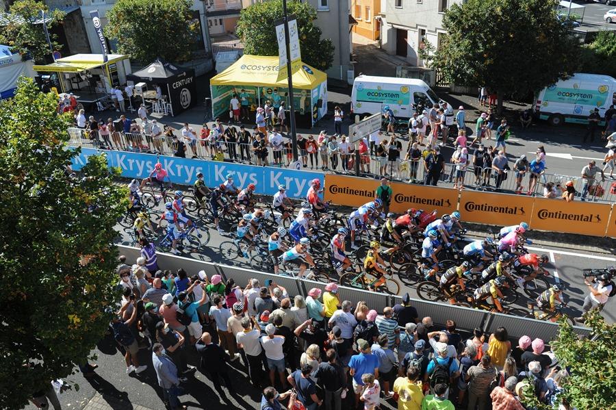 Passage du Tour de France 2020 à Châtel-Guyon