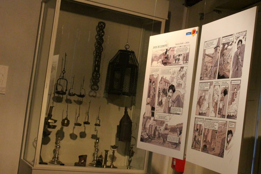 Musée régional d'Auvergne exposition BD