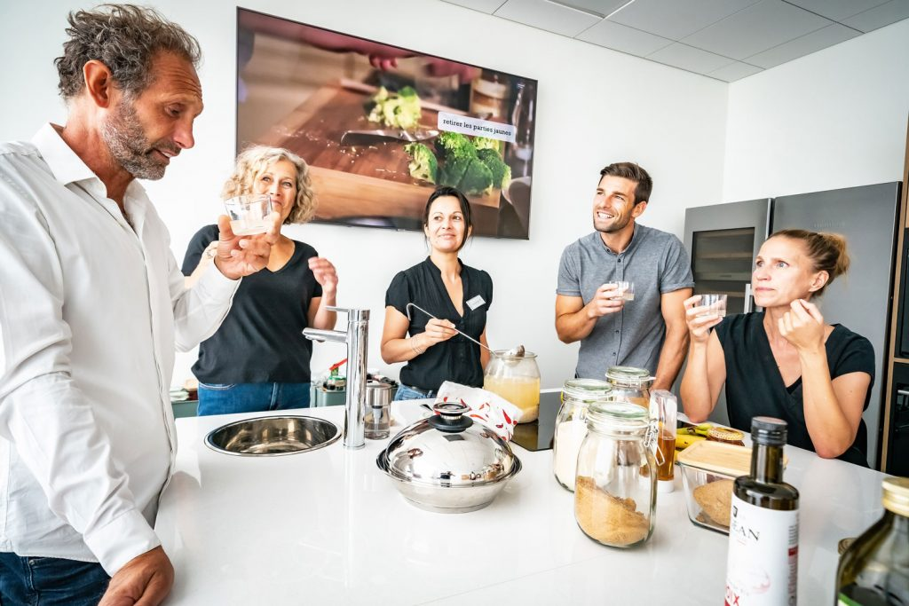 Atelier cuisine avec l'établissement thermal Aïga resort à Châtel-Guyon