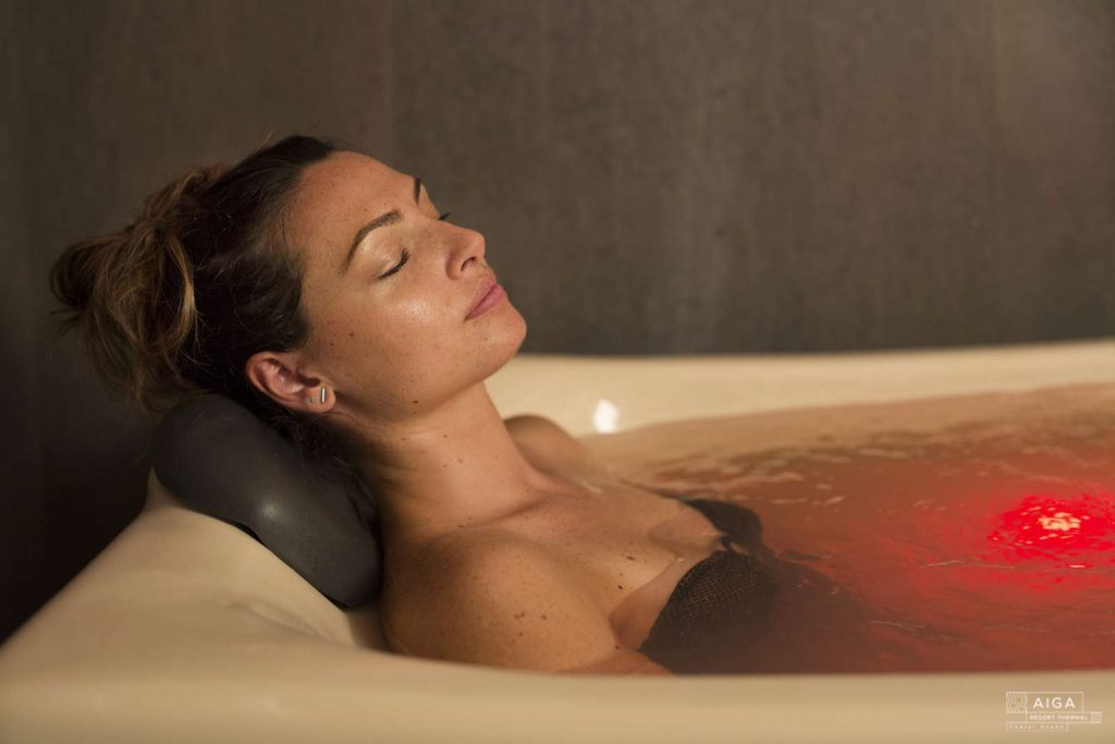 Spa de l'établissement thermal Aïga resort à Châtel-Guyon