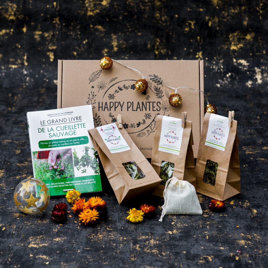 Coffret de Noël tisanes Happy Plantes