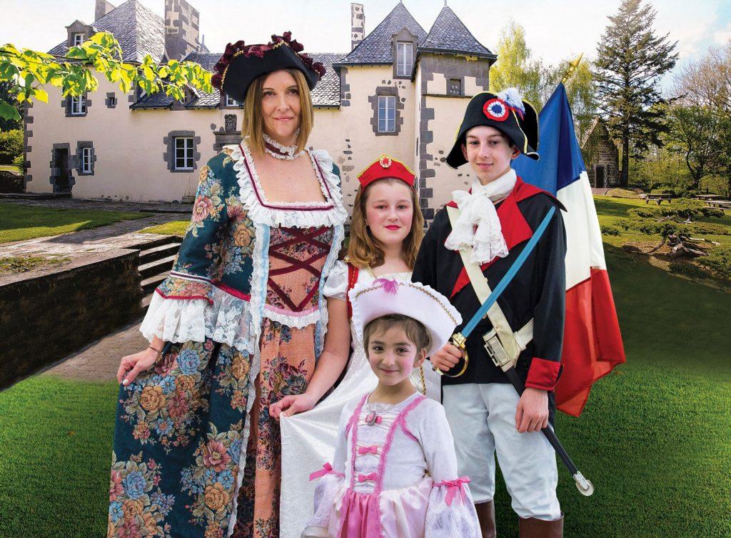 Visites guidées costumées au Manoir de Veygoux à Charbonnières-les-Varennes
