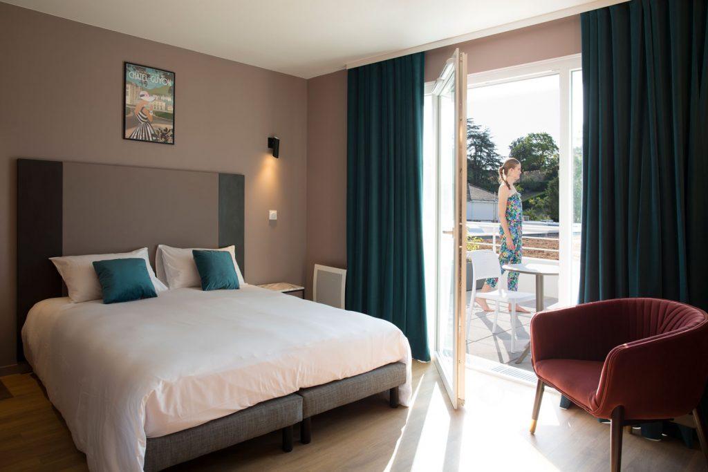 Résidence de tourisme de l'établissement thermal Aïga resort à Châtel-Guyon