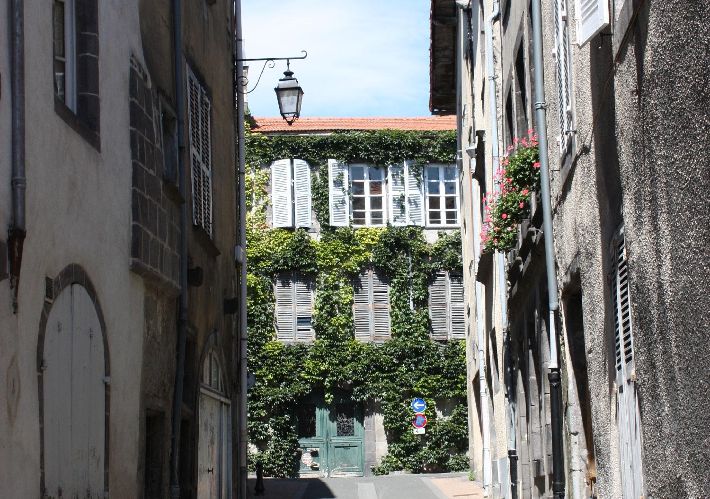 Rue Massillon à Riom