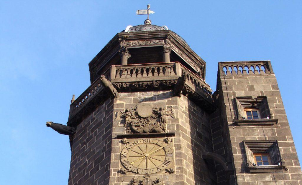 Tour de l'horloge à Riom