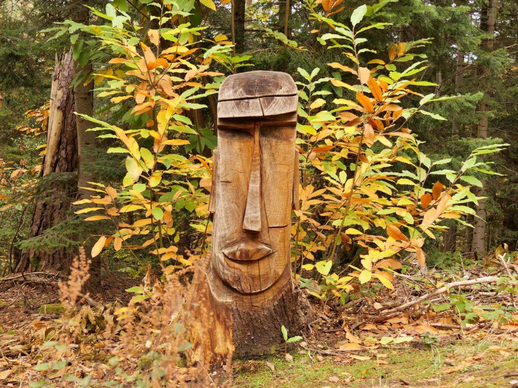 Sentier des sculptures à Châtel-Guyon