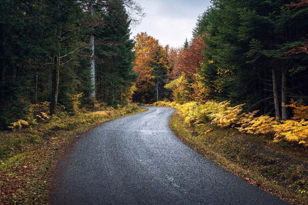Route à Saint-Ours