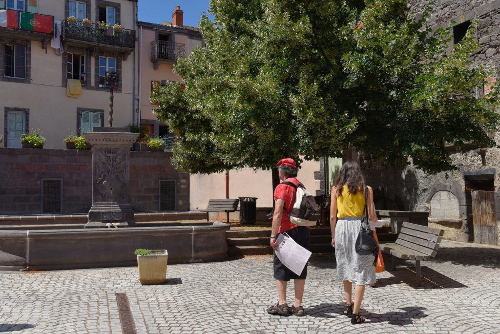 Fontaine à Volvic