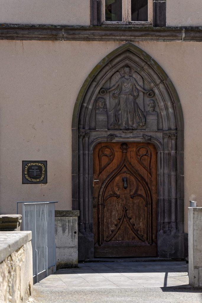 Ancien cloître du monastère