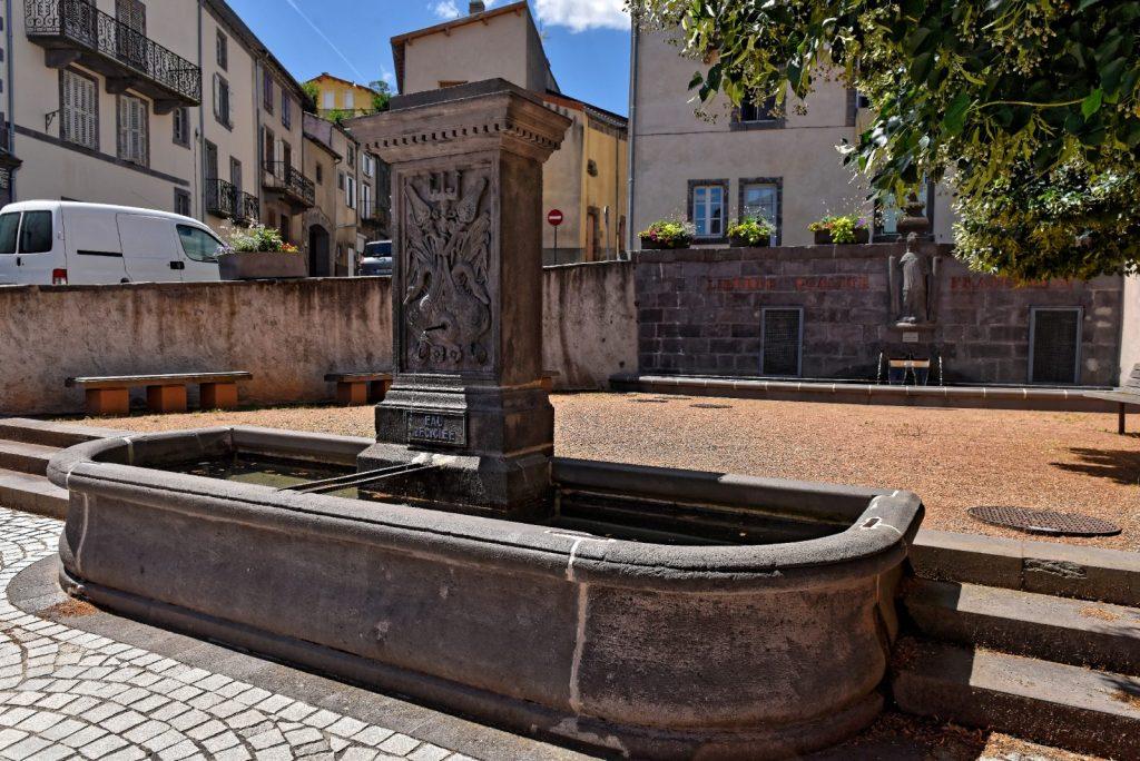 Fontaine des vertus de l'eau