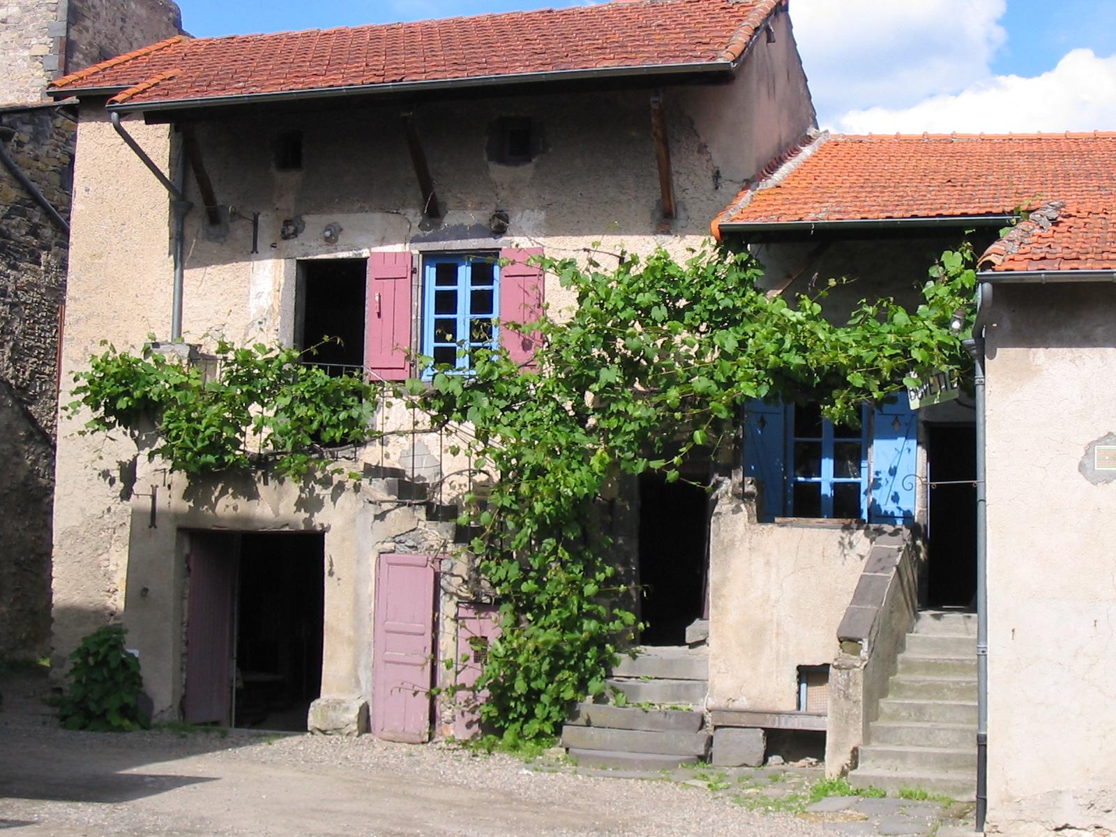 Village – Saint-Bonnet-Près-Riom – Vignes