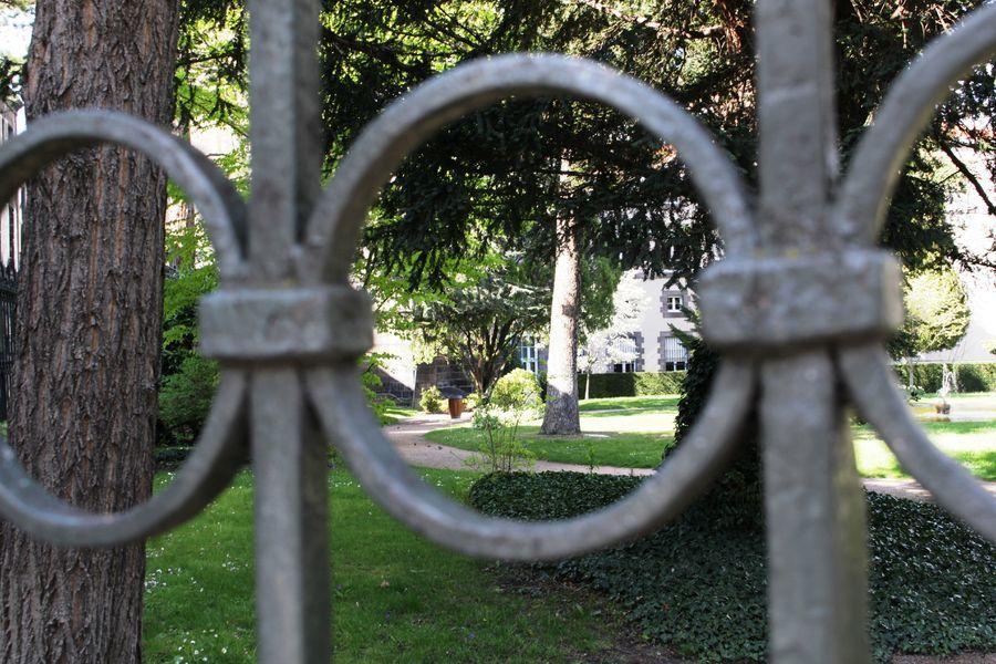 Parcs & jardins – Jardins de la Cour d'Appel – Riom