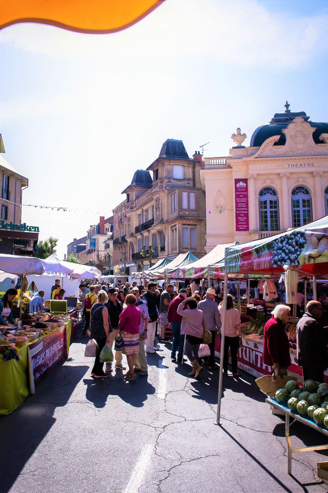 Marché Châtel-Guyon