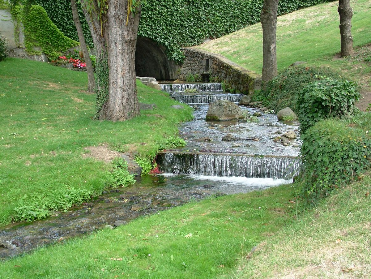 Moulin eau à Sayat