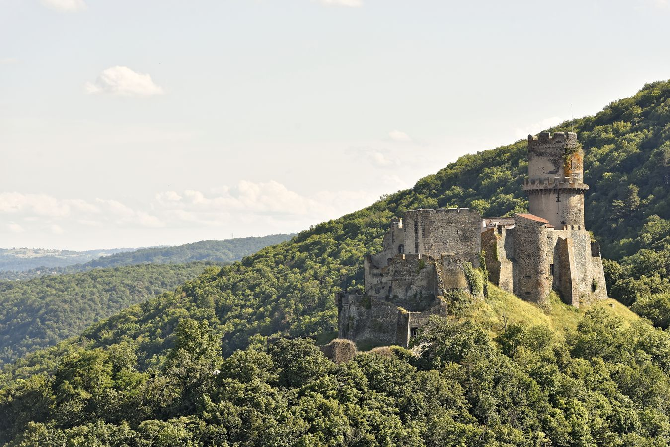 Château de Tournoël à Volvic