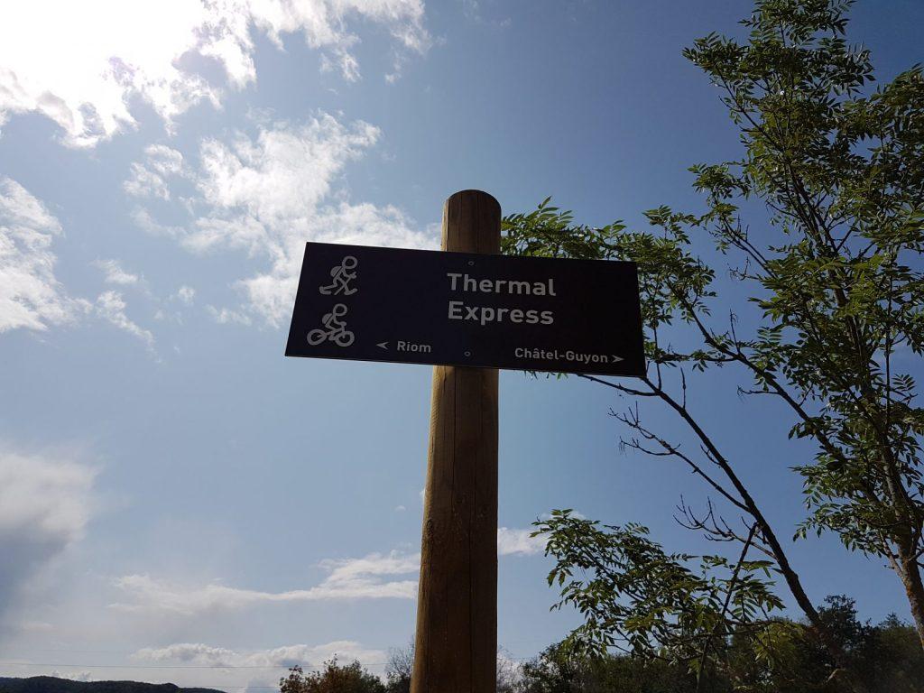 Voie verte Thermal express
