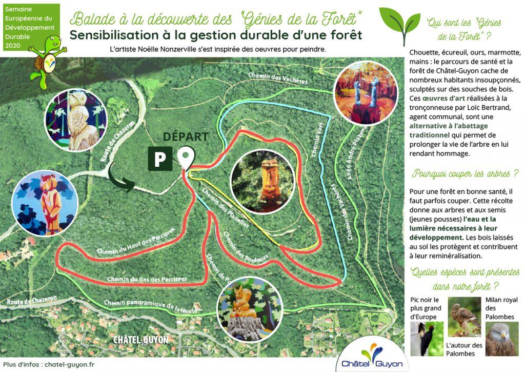 Balade découverte dans la forêt de Châtel-Guyon
